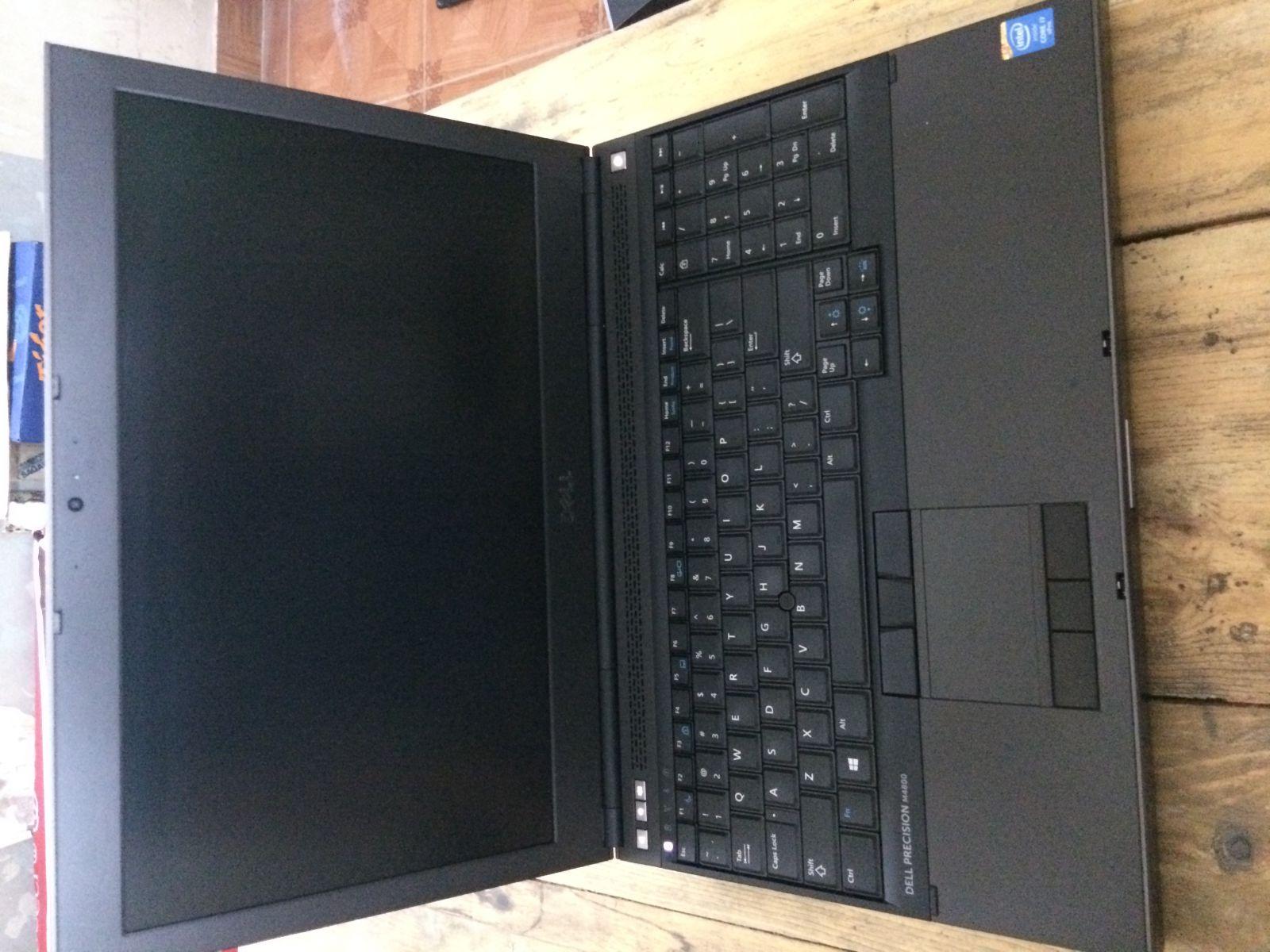 Dell Precision M4800 (Core I7, Ram 8GB, SSD 200GB, VGA RỜI K100M, Màn hình full HD)